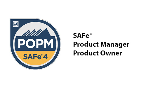 badge SAFe product manager product owner